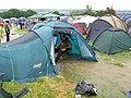 Glastonbury 2005 River Through Tent.jpg