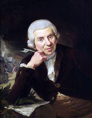 Johann Wilhelm Ludwig Gleim - Ludwig Gleim, portrait by Johann Heinrich Ramberg (1789)