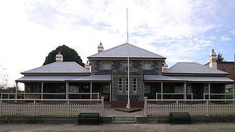 Glen Innes, New South Wales - Glen Innes Court House, which was built in 1873.