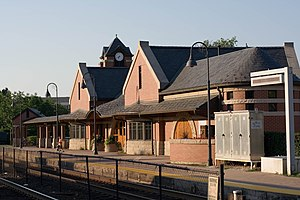 Glenview station - Image: Glenview Railroad Station