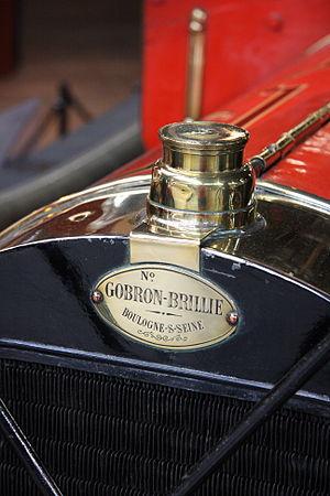 Gobron-Brillié - Gobron-Brillié motif
