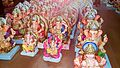 God Ganesh Images -A pack of Ganesh idols at a shop during Ganesh Chaturthi.jpg