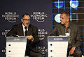 Golan Levin and Walter Scheidel - Annual Meeting of the New Champions 2012.jpg