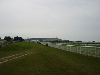 Goodwood Racecourse - Goodwood Racecourse View past main stand