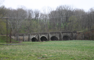 Battle of Upperville - Goose Creek Bridge in Loudoun County, Virginia, north of U.S. Route 50, east of Upperville.