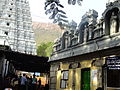 Gopuram at foot path way.JPG