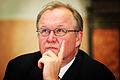 Goran Persson, Sveriges statsminister, under presskonferens vid Nordiska radets session i Stockholm.jpg