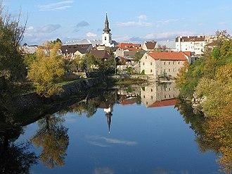 Gospić - View of Gospić