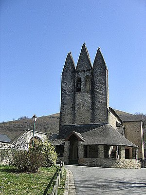 Gotein-Libarrenx - The church of Gotein