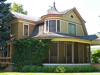 Gothenburg, Nebraska - Ernest A. Calling House at 1514 Lake Avenue is listed on the National Register of Historic Places