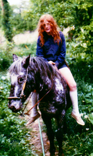 Bareback riding - Informal riding without boots, long pants or an equestrian helmet is common, but raises safety concerns.
