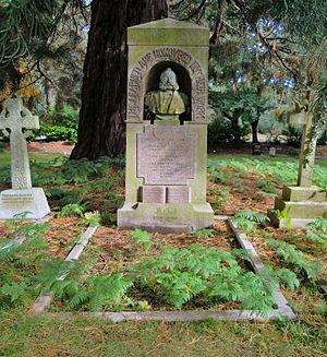 Gottlieb Wilhelm Leitner - Leitner's tomb in Brookwood Cemetery