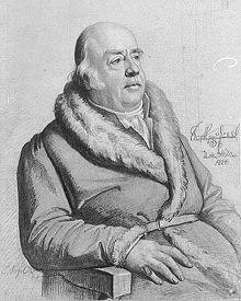 Gottlob Adolf Ernst von Nostitz und Jänkendorf im Jahr 1824, gemalt von Carl Christian Vogel von Vogelstein (Quelle: Wikimedia)