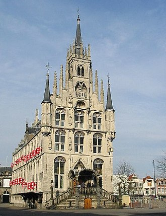 Gouda, South Holland - Gouda's 15th century Town Hall