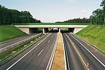 Grünbrücke Autobahn A 52 Elmpt.JPG