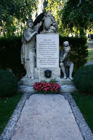 François Sébastien Charles Joseph de Croix, Count of Clerfayt - His Grave in Vienna Hernals Cemetery