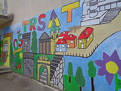 Grafiti na Trsatu, Rijeka (Croatia)