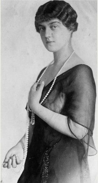 Grand Duchess Maria Pavlovna of Russia (1890–1958) - Grand Duchess Maria Pavlovna in exile. 1920s