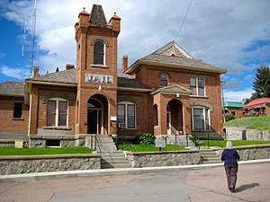 Granite County, Montana - Image: Granite County Jail