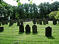 Graveyard, St Peter and St Paul's Church, Ormskirk - geograph.org.uk - 536427.jpg
