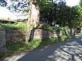 Graveyard Wall at Coddington St Mary - geograph.org.uk - 414594.jpg