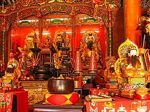 Religion in Australia - Green Pine Taoist Temple of the Evergreen Taoist Church, in Deagon, Brisbane.