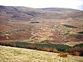Greenlough Clough from slopes of Parlick - geograph.org.uk - 1766002.jpg