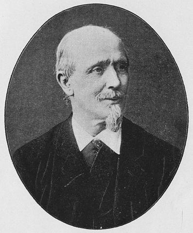 Karl Moritz Großmann - Portrait, Quelle: Buch von C.Dietzschold - Der Cornelius Nepos der Uhrmacher, Krems 1910