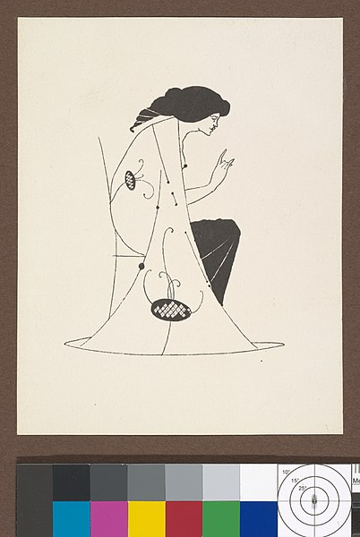 File:Grotesques by Aubrey Beardsley. Facsimile Platinum Prints by Frederick H. Evans from the Twelve Original Drawings in His Collection with a Portrait Frontispiece MET DP366704.jpg
