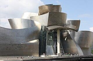 David Hockney: A Bigger Picture 2012 art exhibition at the Guggenheim Museum Bilbao