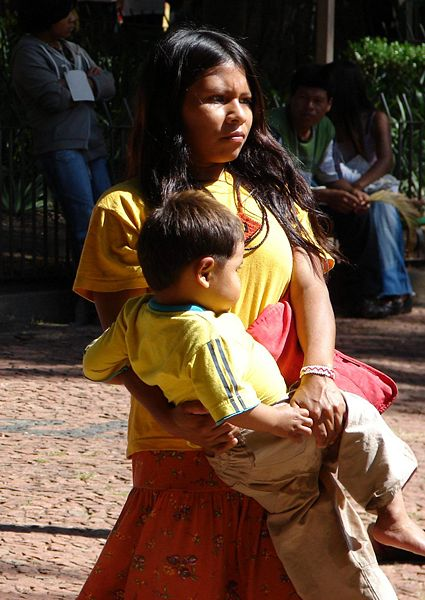 File:Gurani indian-mother.jpg