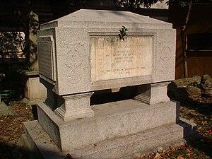 Karl Gützlaff - Gutzlaff's grave at Hong Kong Cemetery