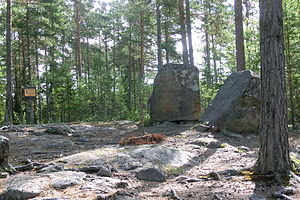 1675 in Sweden - The memorial stone of the Torsåker witch trials from 1675.