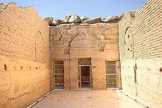 Temple of Beit el-Wali - Forecourt of Beit el-Wali temple