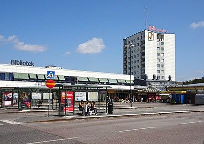 Vägbeskrivningar till Högdalen med kollektivtrafik