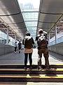 HK 中環 Central 民光街 Man Yiu Street 行人天橋 footbridge near IFC Mall April 2020 SS2 02.jpg