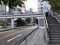 HK 香港島北 Island North 灣仔 Wan Chai District 鴻興道 Hung Hing Road footbridge stairs November 2020 SS2.jpg