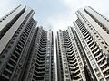 HK Aberdeen Centre residential buildings facades Oct-2012.JPG