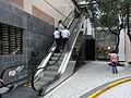 HK Ngau Tau Kok 淘大商場 Amoy Plaza outdoor escalators 步行街 pedestrian zone May-2012.JPG
