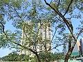HK Shatin Siu Lek Yuen Road view Ravana Garden facade tree 27-Sept-2012.JPG