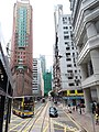 HK tram tour view 灣仔 Wan Chai 莊士敦道 Johnston Road July 2019 IX2 01.jpg