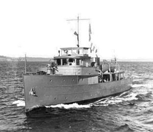 Van Lear Black - HMCS Cougar (formally the Sabalo) in the 1940s