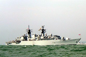 Operation Sharp Guard - Type 22 frigate HMS Chatham