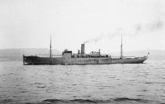 HMS Coreopsis (1917) - Image: HMS Coreopsis (1917) IWM SP 148