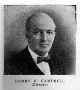 H. C. S. Motor Car Company - Image: H F Campbell portrait