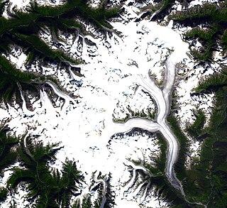 Ha-Iltzuk Icefield glacier in Canada