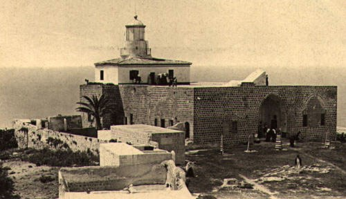 Haifa, The summer residence of Abd Alla Pasha at the end of the 19th century (1608)