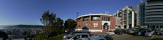 Malaghan Institute of Medical Research - Image: Half panorama MIMR