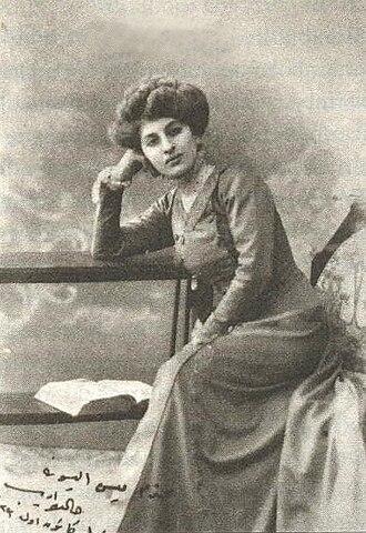 Women in warfare and the military (1900–45) - Halide Edip Adıvar