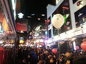 Itaewon - Halloween festival